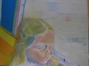 Ploemeur, 2006 Huile sur toile 200 cm x 250 cm
