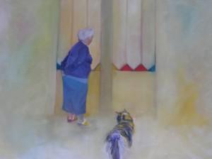 Panache, 2006 Huile sur toile 100 x 150 cm