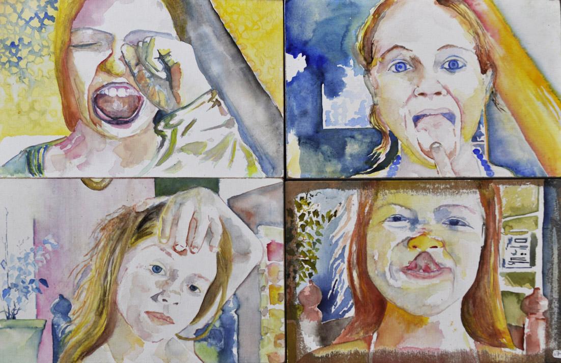 Artiste Plasticienne, Spécialité peinture et Installation