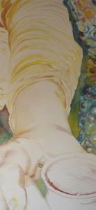 Main, 2007 Huile sur toile 200 cm x 400 cm