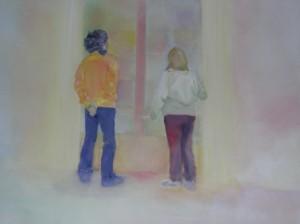 Aragon, 2006 Huile sur toile 100 x 150 cm