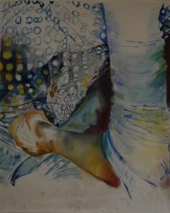 Poche, 2007 Huile sur toile, 300cm x 400cm